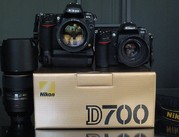Nikon D700 Digital SLR Camera with Nikon AF-S VR 24-120mm lens..