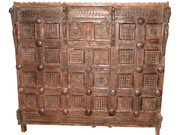 Antique Tribal Sideboard Carved Teak Sideboard Chest