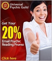 Avail Universal Psychic Guild Email Reading Promo