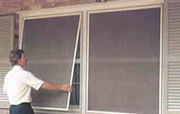 Window Screen,  Fiberglass And Aluminum Materials,  Installation