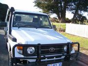 2006 toyota 2006 Toyota Landcruiser HZJ79R (4X4) White 5sp M C